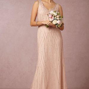 BHLDN Adrianna Papell Pink Brooklyn Dress size 0